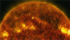 צפו: סערה על פני השמש (צילום: NASA'S GODDARD SPACE FLIGHT CENTER/SDO/GENNA DUBER)