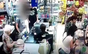 צפו: סוכן קטין מצליח לרכוש אלכוהול (צילום: דוברות המשטרה)