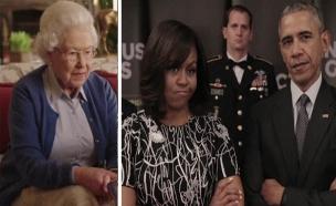 """צפו בשיתוף הפעולה של נשיא ארה""""ב ומלכת אנגליה (צילום: invictus games)"""