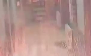 הפצצה בחלב בסוריה (צילום: חדשות 2)