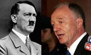 ליווינגסטון לא נסוג מאמירותיו על היטלר (צילום: רויטרס, ויקיפדיה)