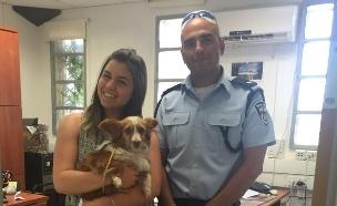 כלב גנוב (צילום: באדיבות חטיבת דוברות המשטרה)
