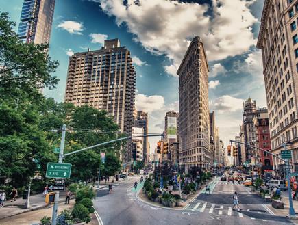 בניינים שחייבים לראות, פלאטאיירון ניו יורק (צילום: shutterstock)