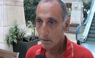 מזרחי מאיר אביו של הנפגע בפיגוע סמוך לדלוב (צילום: חדשות 2)