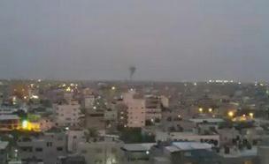 תקיפה של חיל האויר באזור רפיח (צילום: חדשות 2)