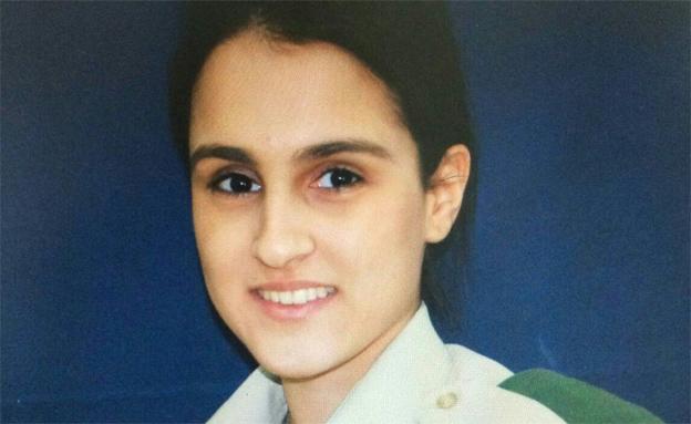 גיבורה רק בת 19 (צילום: משרד הביטחון)