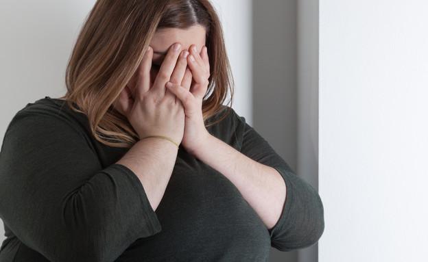 אישה שמנה (צילום: shutterstock ,מעריב לנוער)