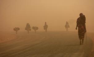 מכת חום באפריקה, ארכיון (צילום: רויטרס)