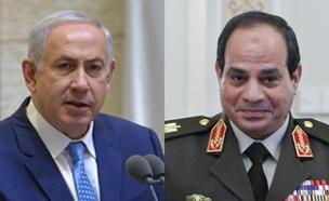 """הנאום של נשיא מצרים, היום (צילום: רויטרס, קובי גדעון / לע""""מ)"""