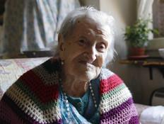 האישה הזקנה בעולם (צילום: PA)