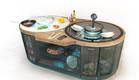 מטבח חכם באי (צילום: OTTO smart kitchen)