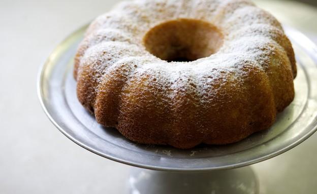 עוגת שיש עם גבינה לבנה ושוקולד (צילום: קרן אגם ,אוכל טוב)