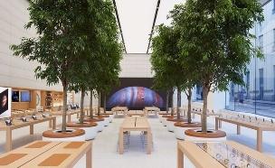 חנות הדגל החדשה של אפל ביוניון סקוור בסן פרנסיסקו