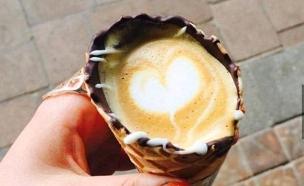 קפה גלידה (צילום: instagram ,מעריב לנוער)