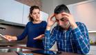 זוג מיואש בחובות (אילוסטרציה: shutterstock ,shutterstock)
