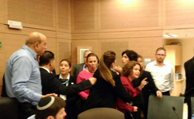 ההתרחשויות בפתיחת מושב הכנסת (צילום: שקד מורד)