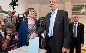 הנשיא האוסטרי הבא, וואן דר בלן (צילום: Sky News)
