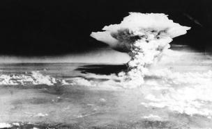 """שלוש שעות אחרי הפצצת הירושימה (צילום: צבא ארה""""ב)"""