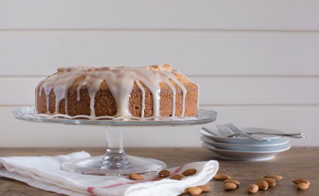 עוגת שקדים - מוכנה (צילום: דרור עינב ,אוכל טוב)