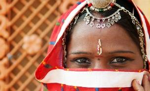 אישה הודית (צילום: shutterstock ,מעריב לנוער)