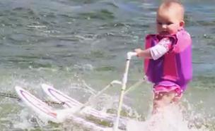 בת כמה שיאנית העולם בסקי מים? (צילום: CNN)