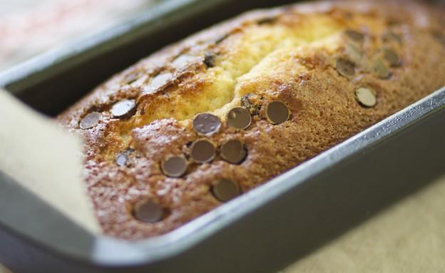 עוגת וניל שוקולד צ'יפס (צילום: קרן אגם ,אוכל טוב)