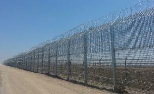 גדר הגבול עם סוריה (צילום: חדשות 2)