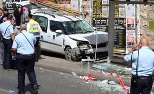 פיגוע דריסה מלכי ישראל ירושלים (צילום: חדשות 2)