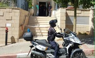 זירת הרצח בראשון לציון (צילום: חדשות 2)