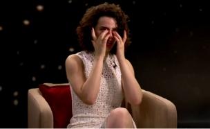 קורין גדעון בכתה (צילום: באדיבות: HOT בידור ישראלי ,HOT)