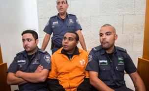 יונתן היילו בבית המשפט (צילום: Yonatan Sindel/Flash90)