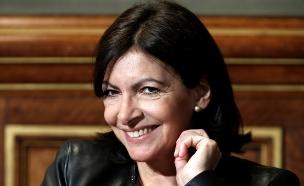 אן הידלגו, ראש עיריית פריז (צילום: רויטרס)