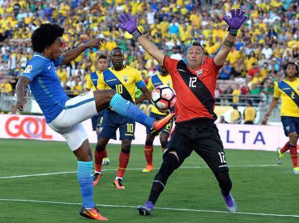 וויליאן וברזיל לא מצאו את הרשת (GETTY)(ספורט 5)