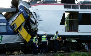 בלגיה: 3 הרוגים בהתנגשות רכבות (אילוסטרציה) (צילום: רויטרס)