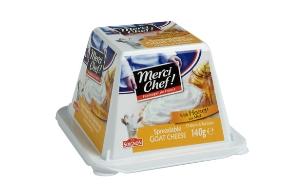 גבינת עזים פירמידה עם דבש, מרסי שף  (צילום: יחסי ציבור ,יחסי ציבור)