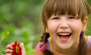 ילדה שמחה (צילום: shutterstock ,shutterstock)