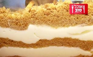 עוגת גבינה עם הפתעות לוטוס (צילום: בועז לביא ,לוטוס)