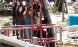 """המשטרה בפעולה: מעצר שב""""חים (צילום: קבוצת חמ""""ל קב""""טים)"""