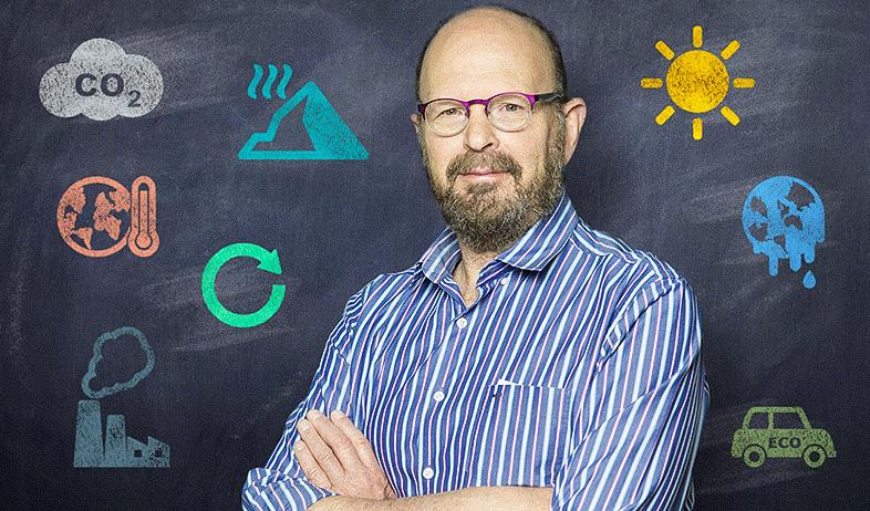 פרופסור דני רבינוביץ (צילום: עופר חן, עיבוד: סטודיו מאקו)