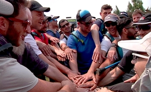 המסע המרגש של פצועי מערכת הביטחון. צפו (צילום: חדשות 2)