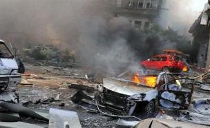 אזור הפיצוץ בדמשק, היום