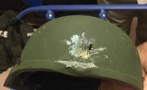 הקסדה הצילה את חייו של השוטר (צילום: טוויטר משטרת אורלנדו)