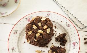 עוגיות שוקולד ובוטנים (צילום: אפיק גבאי ,אוכל טוב)