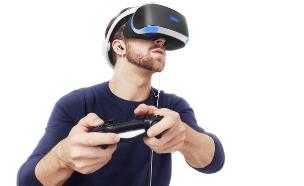 משקפי מציאות מדומה PlayStation VR (צילום: Sony)