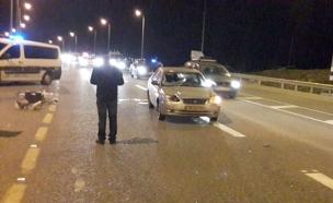 זירת התאונה באילניה