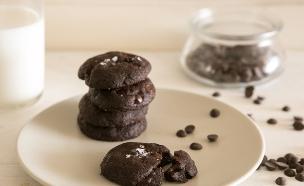 עוגיות שוקולד מלוחות (צילום: דרור עינב ,אוכל טוב)