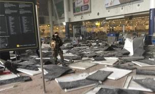 זירת הפיגוע בנמל התעופה, מרס 2016