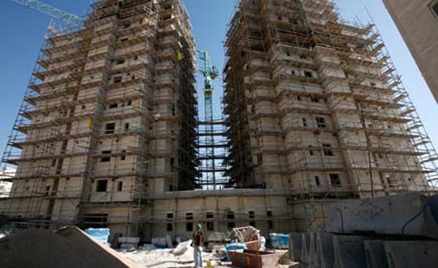בניין, בנייה דיור נדלן (צילום: חדשות 2)