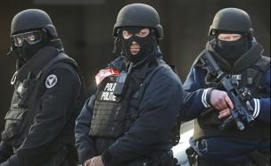 שוטרים בבריסל, ארכיון (צילום: רויטרס)