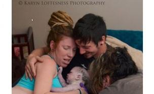 לידת עכוז (צילום: karynloftesnessphotography.com)